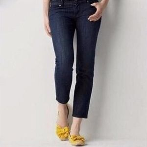 Cropped work jeans - Ann taylor loft modern crop